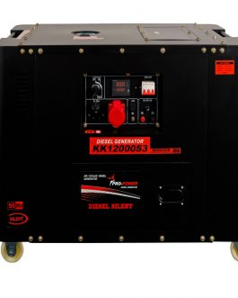 Diesel Silent Generator 11Kw 3-PHASE (13.8Kva) 25lt with ATS Interface
